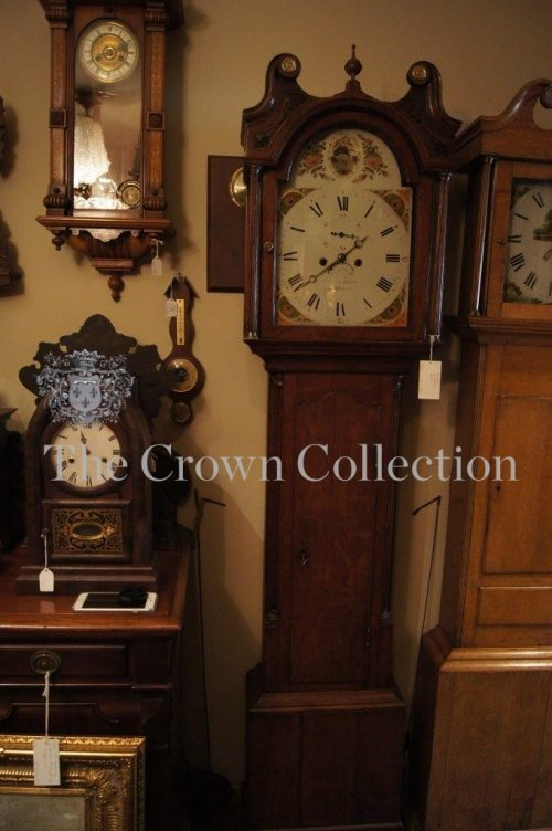 British Longcase Clock