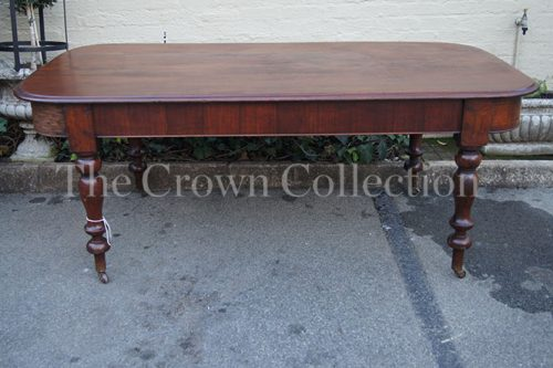 Victorian 1890 Mahogany Blunt End Dining Table