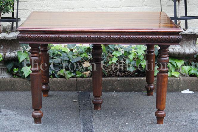 19th Century Flemish Oak Table (no leaves)