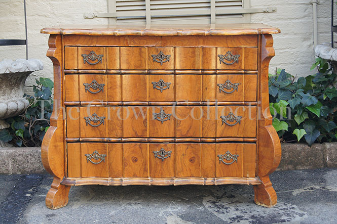 Continental Low Chest of Drawers