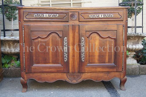 French Cherrywood Buffet 19th Century
