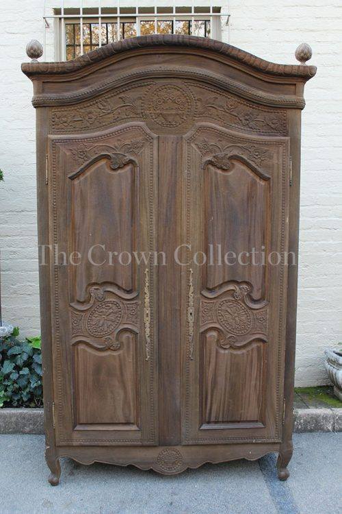 Dark Wood 2 Door Armoire