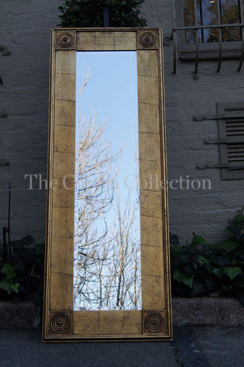 Gilded Rectangular Mirror