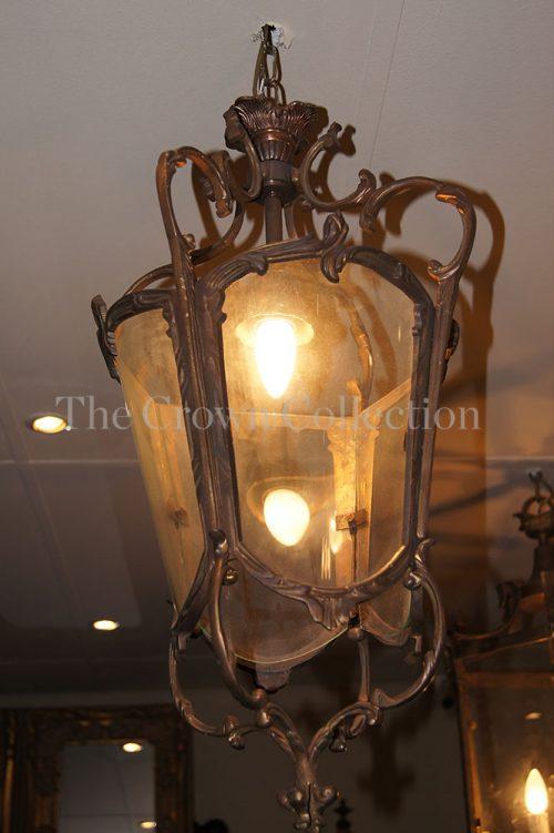 Brass Ornate Lantern