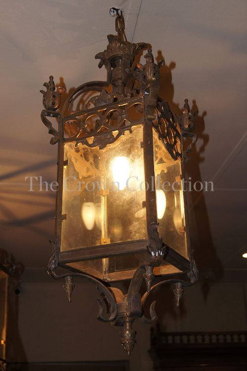 Small King Brass Lantern