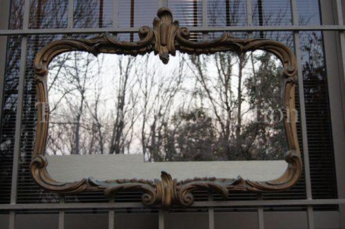 Vintage Gilt Gesso Baroque Style Mirror ND