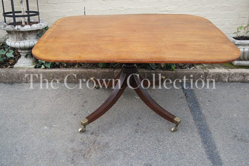 Early 19th Century George III Mahogany & Rosewood Banded Breakfast Table Circa 1810