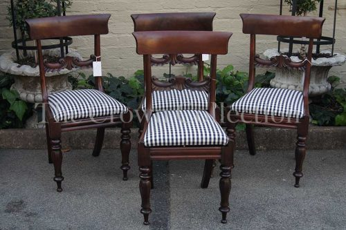 Set of 4 Regency Style Chairs