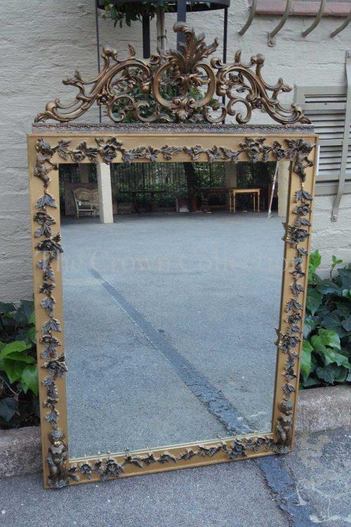 Ornate Framed Gilt Mirror
