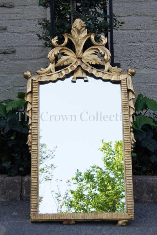 Ornate Gilt Framed Mirror