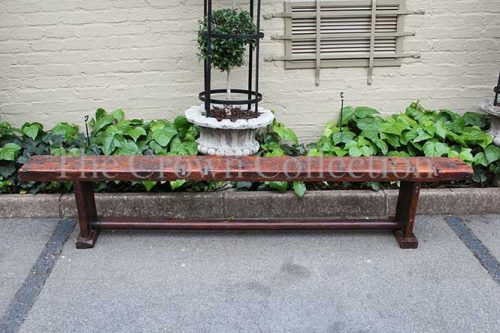 Rustic Long Sleeper Bench