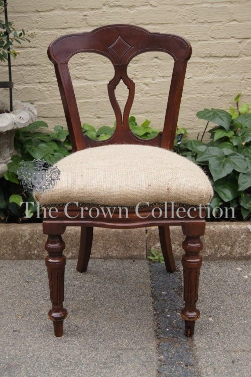 Victorian Mahogany Chair
