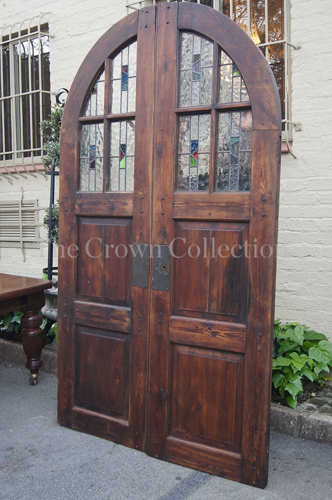 Pair Old Church Doors - Other Antiques & Collectables - Pair Old Church Doors Was Listed