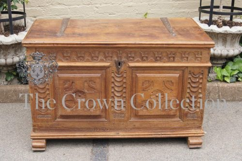 18th Century Dutch Oak Chest