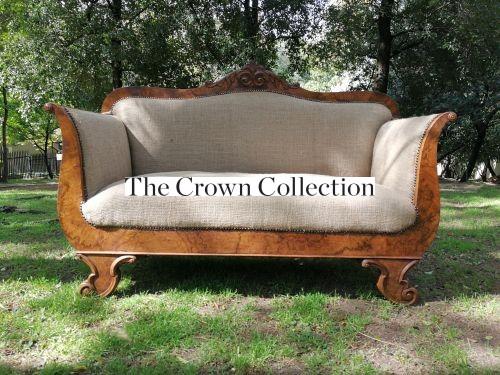 Vintage-Furniture-Biedermeir-Walnut-Settee