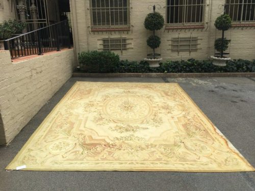 French Aubusson Style Needlepoint Carpet - ND