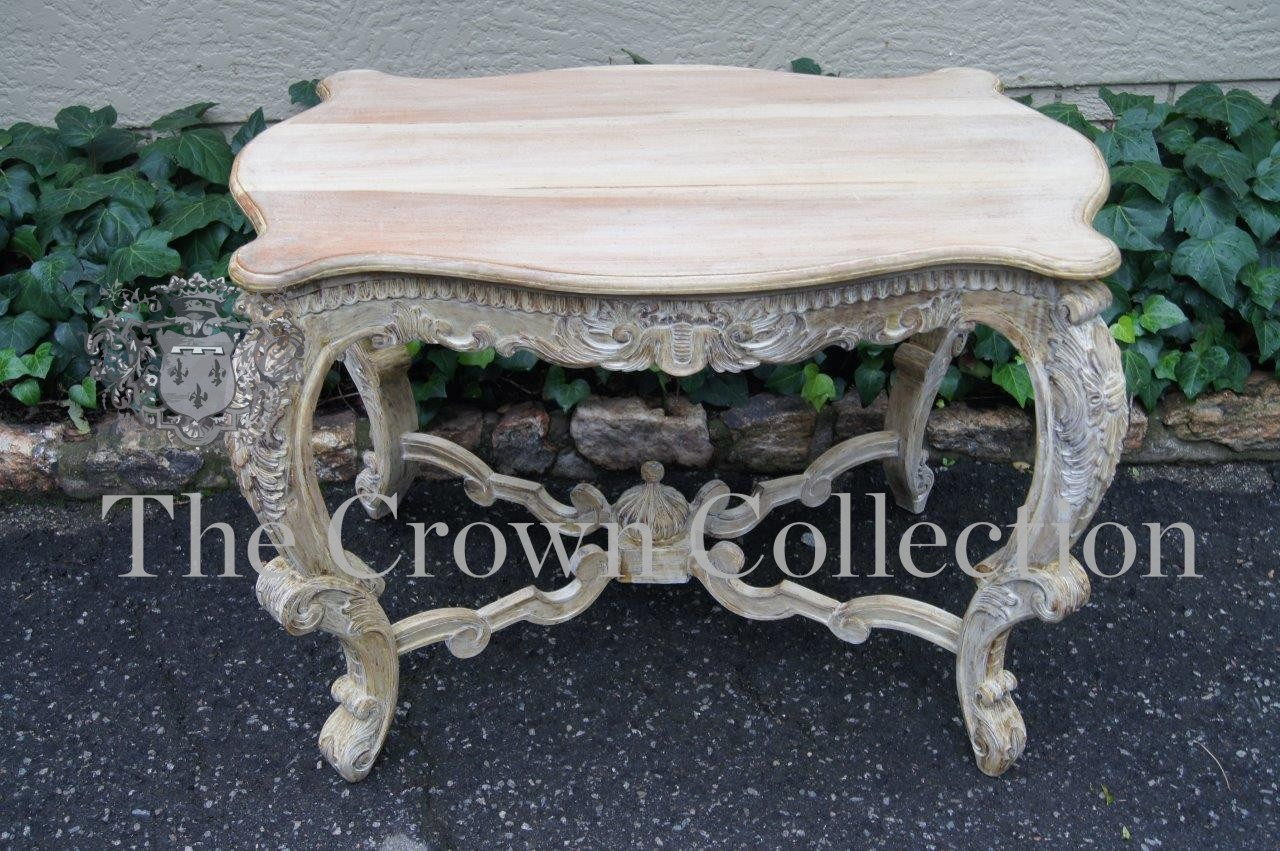 Bleached Occasional Table