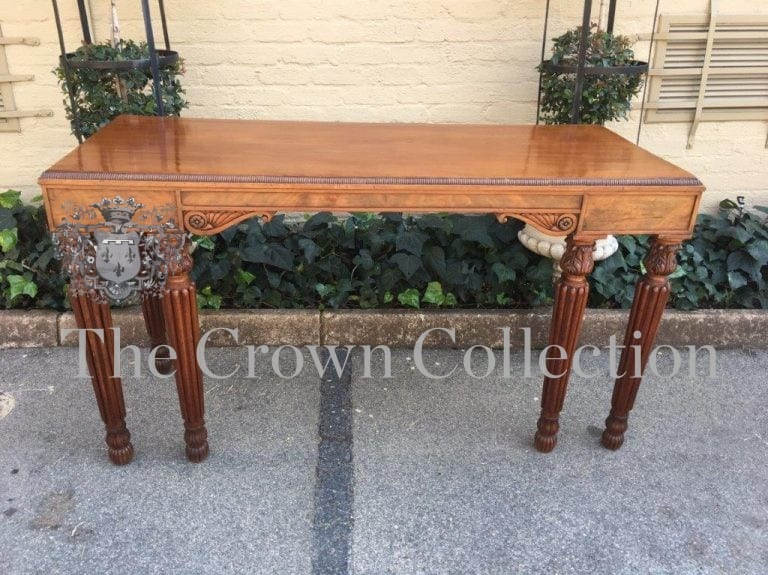 A fine Early 19th Century Irish Regency Mahogany Service Table