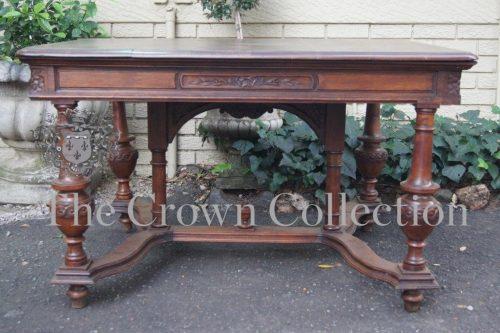 Early 20th-Century Belian Oak Centre Table