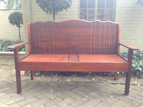 Vintage Imbuia Bench