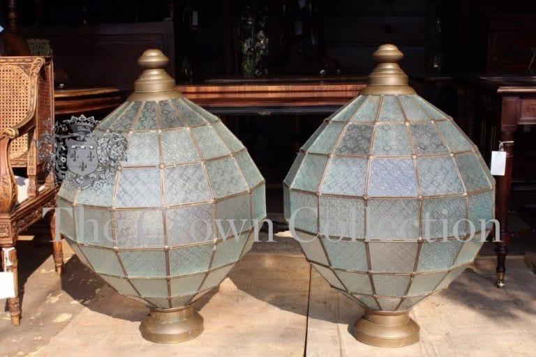 Pair Vintage Lanterns