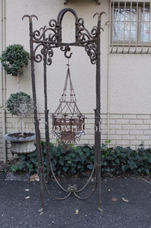 Wrought Iron Conservatory Candelabra