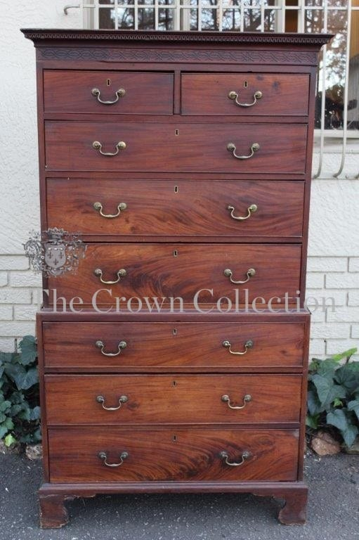 Edwardian Chest on Chest
