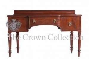 19th Century George III Mahogany Breakfront Sideboard