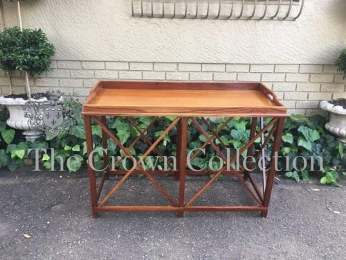 Good Quality Chippendale Style 'Tray' Server