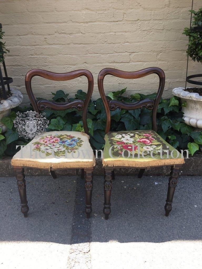 Pair Original Rosewood Chairs