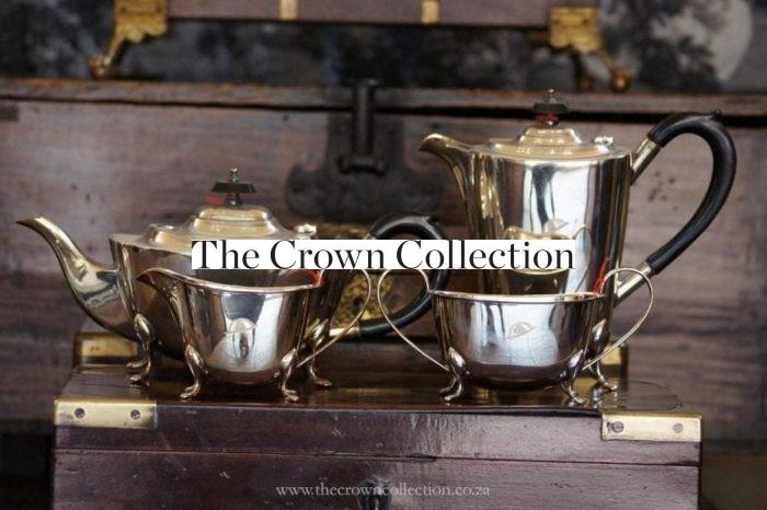 4 Piece Silver Plated Art Deco Tea Service