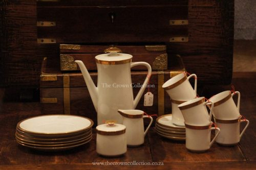 German Porcelain Tea/Coffee Set