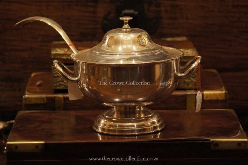 Soup Tureen Silver Plated