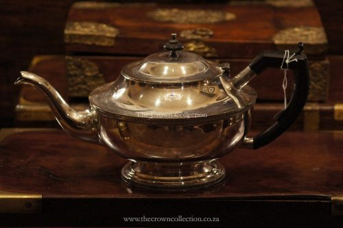 Large Silver Plated Teapot