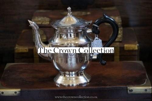 Vintage Silver Plate Ornate Coffee Pot Vgc
