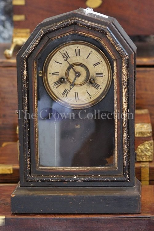 Ingraham & Co. Circa 1868 Doric Shelf Clock