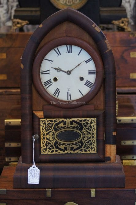 Antique E N Welch Forestville Beehive Cathedral Clock