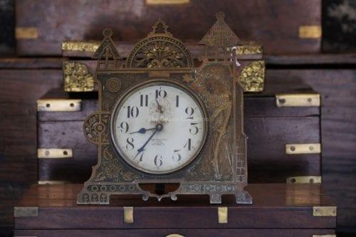 """Antique Bronze/Brass """"Westclox"""" Big Ben"""