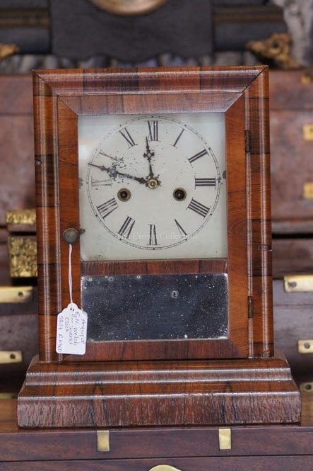 Antique E.N. Welch Rosewood Clock