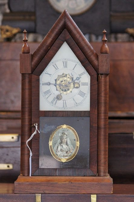 Antique E.N. Welch Queen Victoria Clock