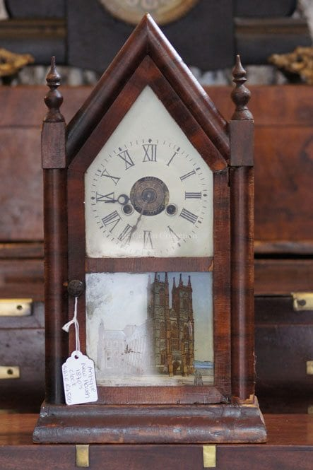 Antique New Haven 1870S Clock