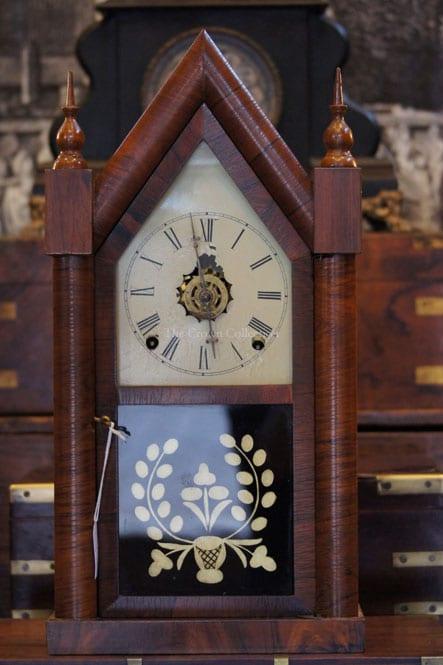 Antique New Haven Steeple Clock