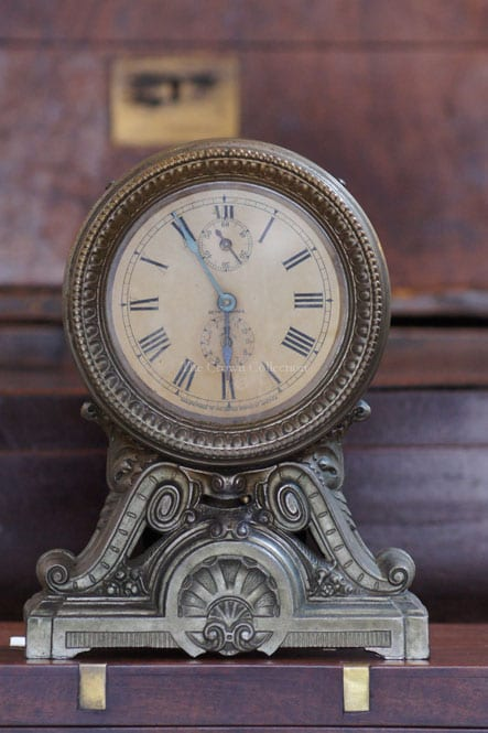 Antique Seth Thomas Clock (Metal)
