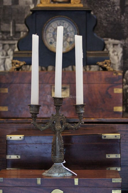 Vintage Ancient French Candelabra