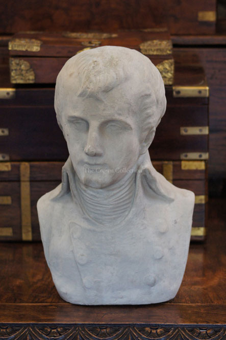 Large Napoleon Bust Without Hat