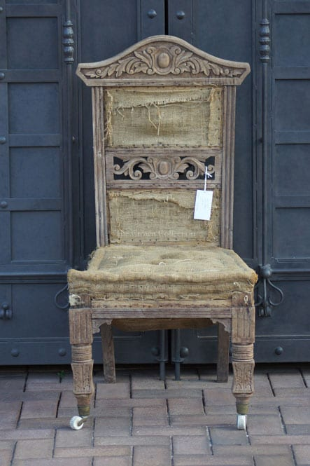 Carved Wooden Chair