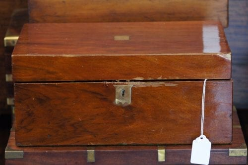 Antique Writing Slope/Wooden Box
