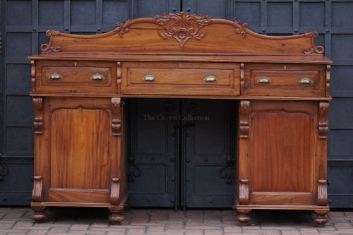19Th Century Colonial Hardwood Sideboard
