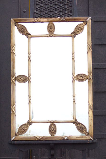 Late 19th/Early 20th Century Gilded Wood Mirror