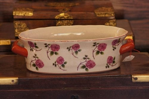 Pink Rose Pot Pouri Holder/Dish